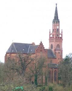 Kirche Schlieffenberg vor der Instandsetzung