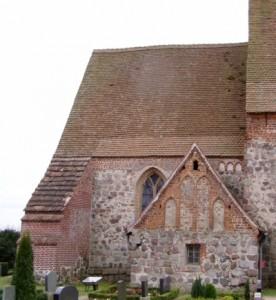 Kirche Schwinkendorf vor der Instandsetzung