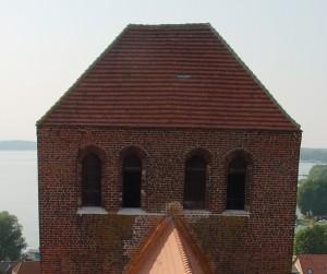 Kirchturm vor der Instandsetzung