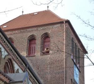Turm nach der Instandsetzung