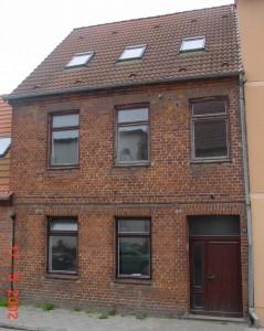 Wohnhaus Malchow Mühlenstraße vor der Instandsetzung