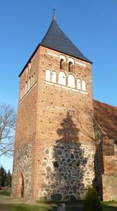 Kirchturm nach der Instandsetzung
