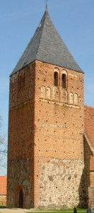 Kirche Zettemin vor der Instandsetzung