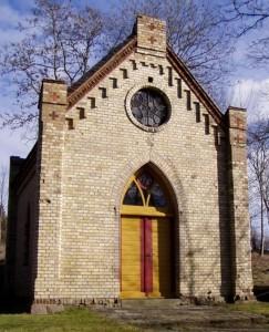 Kapelle Hohen Mistorf vor der Instandsetzung