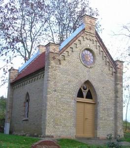 Kapelle nach der Instandsetzung
