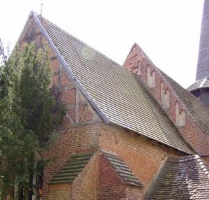 Kirche Varchentin vor der Instandsetzung