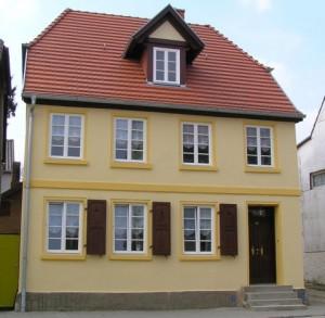 Wohnhaus nach der Instandsetzung