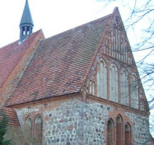 Chor der Kirche Cammin vor der Instandsetzung