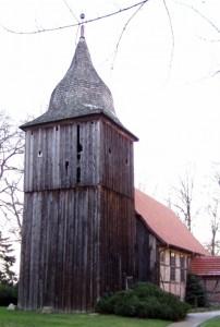 Kirche Dammwolde vor der Instandsetzung