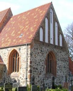 Chor der Kirche nach der Instandsetzung