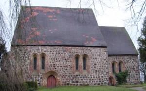 Kirche Thelkow vor der Instandsetzung